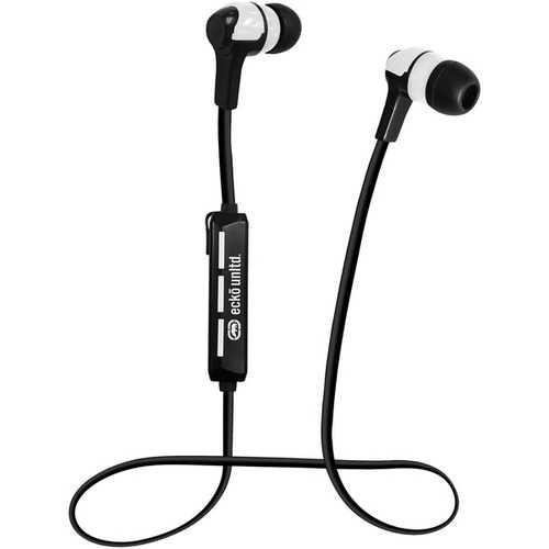 Ecko Unltd. Trek Bluetooth Earbuds With Microphone (white) (pack of 1 Ea)