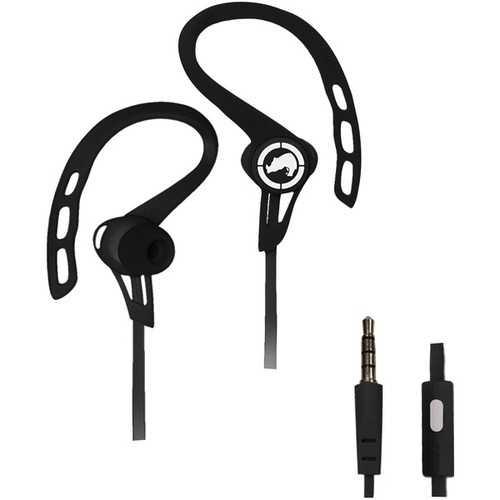 Ecko Unltd. Rush Sport Earbuds With Microphone (black) (pack of 1 Ea)