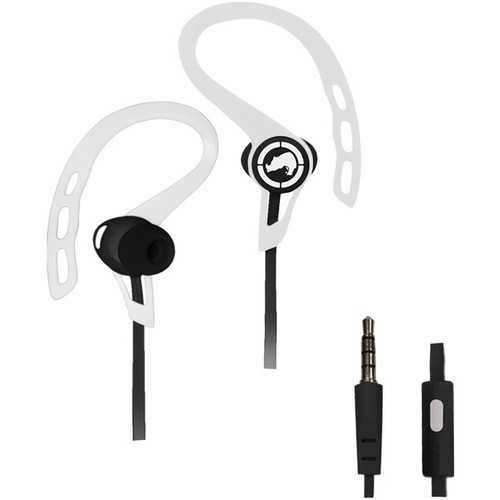 Ecko Unltd. Rush Sport Earbuds With Microphone (white) (pack of 1 Ea)