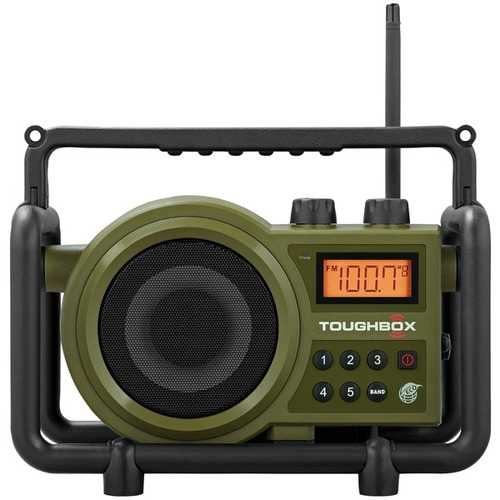 Sangean Toughbox Fm And Am And Aux Ultra-rugged Digital Rechargeable Radio (pack of 1 Ea)