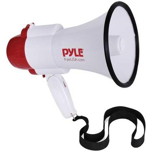 Pyle 30-watt Megaphone Bullhorn With Siren & Voice Changer Modes (pack of 1 Ea)