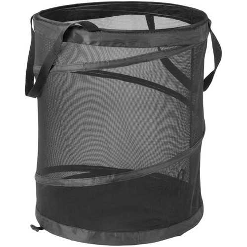 Honey-can-do Large Mesh Pop-up Hamper With Handles (pack of 1 Ea)
