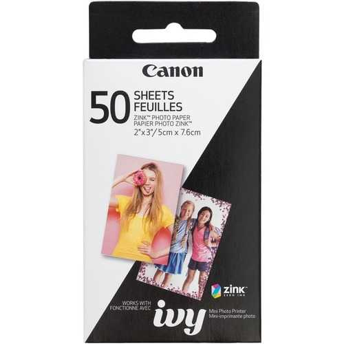 Canon Zink Photo Paper Pack (50-ct) (pack of 1 Ea)
