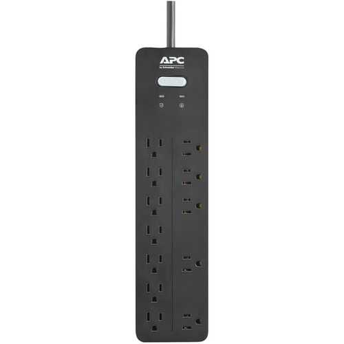 Apc 12-outlet Surgearrest Home And Office Series Surge Protector, 6ft Cord (pack of 1 Ea)