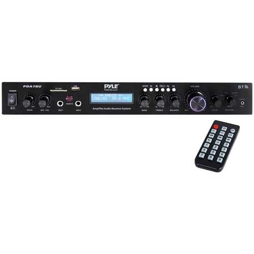 Pyle Home Theater Audio Receiver Sound System With Bluetooth (pack of 1 Ea)
