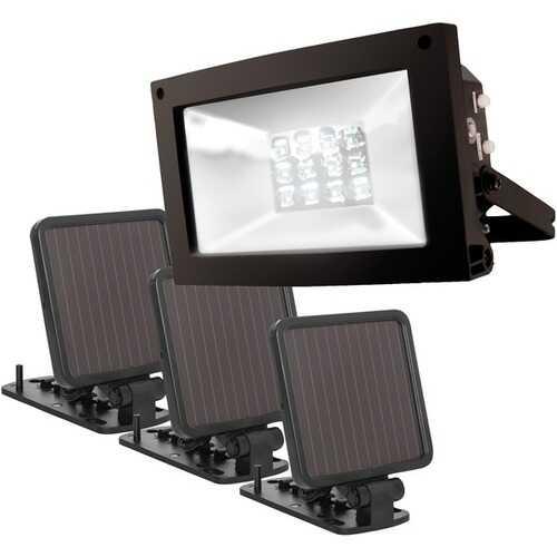 Maxsa Innovations Solar-powered Ultrabright Flood Light (pack of 1 Ea)