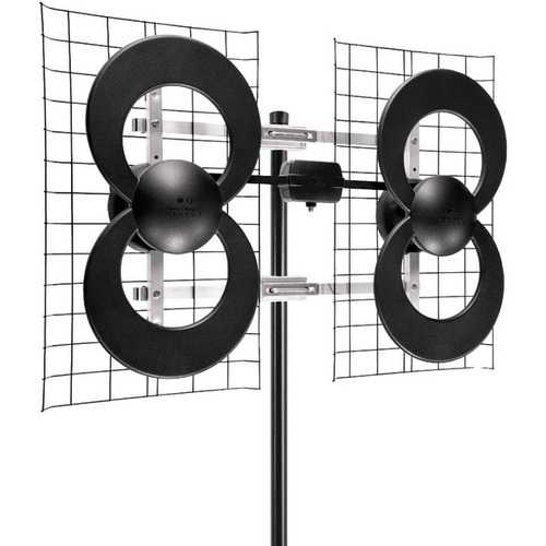"Antennas Direct Clearstream 4 Uhf Outdoor Antenna With 20"" Mount (pack of 1 Ea)"