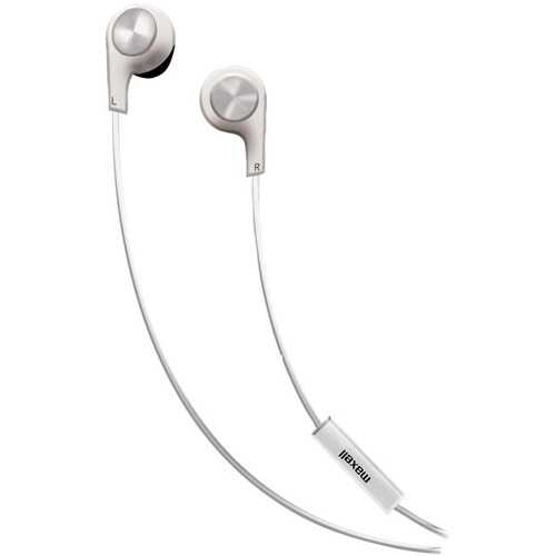 Maxell Bass 13 In-ear Earbuds With Microphone (pack of 1 Ea)