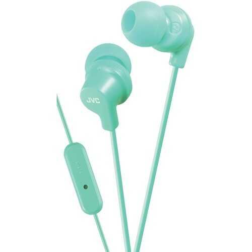 Jvc In-ear Headphones With Microphone (teal) (pack of 1 Ea)