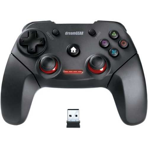 Dreamgear Shadow Pro Wireless Controller For Ps3 & Pc (pack of 1 Ea)