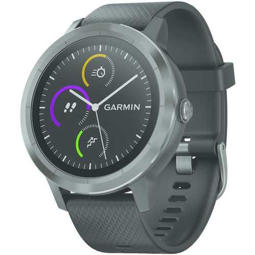 Garmin Vivoactive 3 (black With Slate Hardware) (pack of 1 Ea)