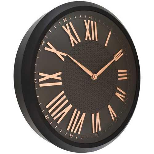 """Westclox 15"""" Round Embossed Wall Clock (pack of 1 Ea)"""