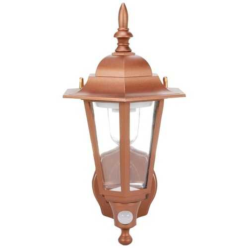 Maxsa Innovations Battery-powered Motion-activated Plastic Led Wall Sconce (bronze) (pack of 1 Ea)