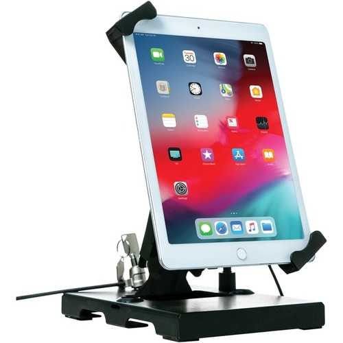 Cta Digital Flat-folding Tabletop Security Stand For 7-inch To 14-inch Tablets (pack of 1 Ea)