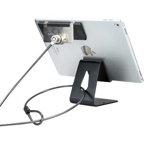 Cta Digital Tablet Security Kiosk Kit With Display Stand And Locking Cable (pack of 1 Ea)