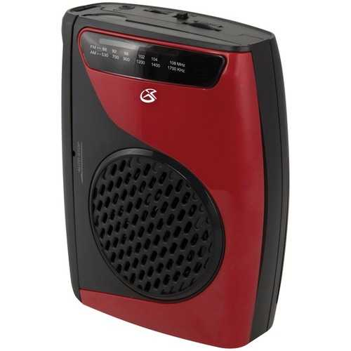 Gpx Cassette Player With Am And Fm Radio (pack of 1 Ea)