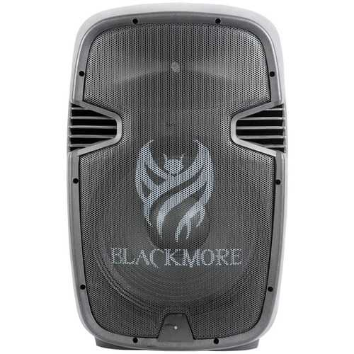 Blackmore Pro Audio Amplified Professional Pa System With Dual 15-inch Monitors (pack of 1 Ea)