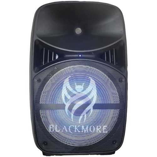 Blackmore Pro Audio Portable Amplified 2-way Loudspeaker With Leds (pack of 1 Ea)