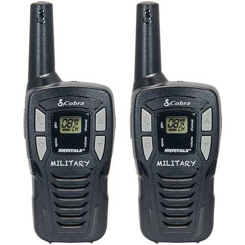 Cobra He145 16-mile 22-channel Frs And Gmrs 2-way Radios (black) (pack of 1 Ea)