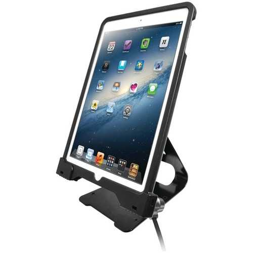 Cta Digital Antitheft Security Case With Stand For Ipad Gen. 6 (2018), Ipad Gen. 5 (2017), Ipad Pro 9.7, Ipad Air 2 & Ipad Air (pack of 1 Ea)