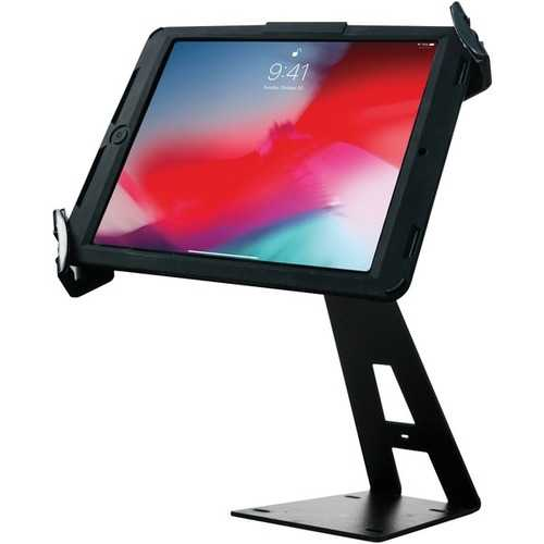 Cta Digital Angle-adjustable Locking Desktop Stand For 7-inch To 14-inch Tablets (pack of 1 Ea)