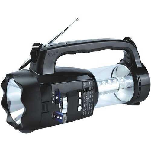 Supersonic 20-led 3-way Emergency Radio, Flashlight, And Lantern (pack of 1 Ea)