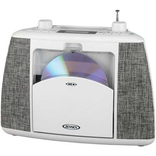 Jensen Portable Bluetooth Cd Music System (pack of 1 Ea)