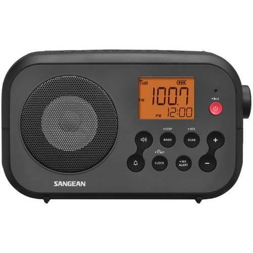 Sangean Pr-d12 Am And Fm Noaa Weather Alert Digital Tuning Portable Radio (pack of 1 Ea)
