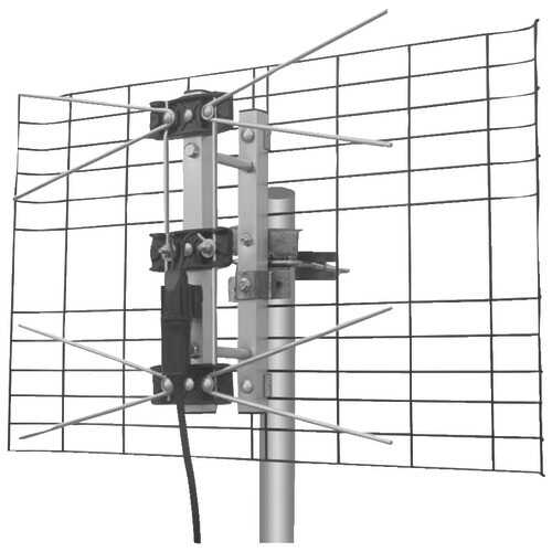 Eagle Aspen Directv-approved 2-bay Uhf Outdoor Antenna (pack of 1 Ea)