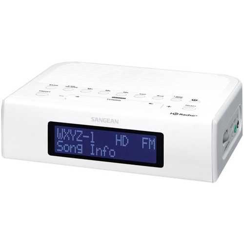 Sangean Hdr-15 Am And Fm Hd Radio Clock Radio (pack of 1 Ea)
