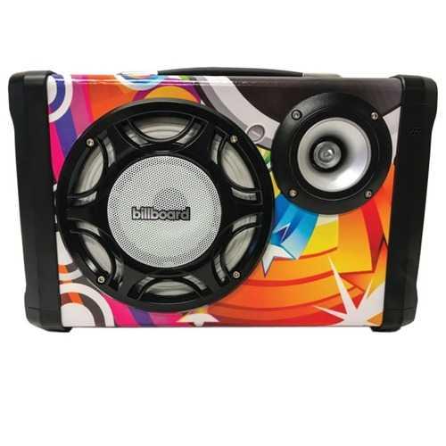 Billboard Graffiti Bluetooth Portable Speaker (pack of 1 Ea)