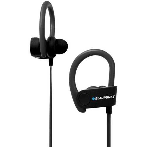 Blaupunkt Sports Bluetooth Earbuds With Earhooks And Microphone (pack of 1 Ea)