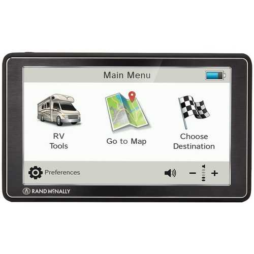 Rand Mcnally Rvnd 7 Gps Device With Free Lifetime Maps (pack of 1 Ea)