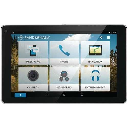 Rand Mcnally Overdryve 7 Rv Gps Tablet With Built-in Dash Cam And Free Lifetime Maps (pack of 1 Ea)