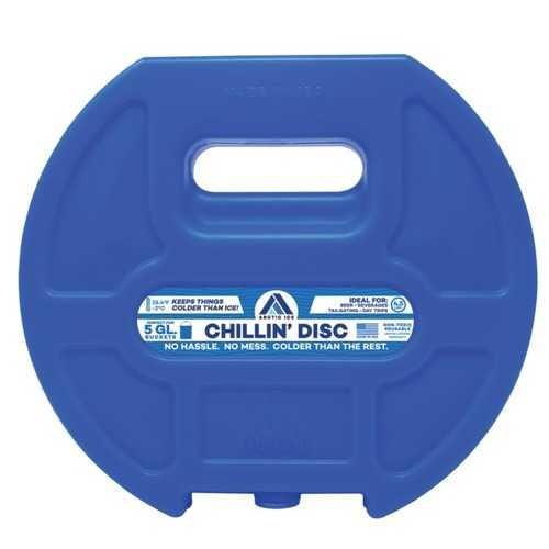 Arctic Ice Chillin' Disc Freezer Pack (pack of 1 Ea)