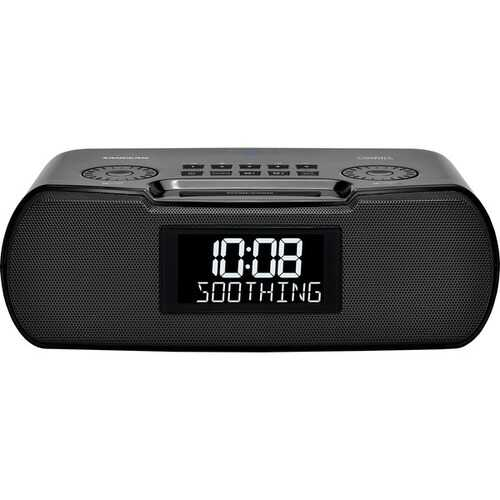 Sangean Rcr-30 Am And Fm Clock Radio With Bluetooth And Sound Soother (pack of 1 Ea)