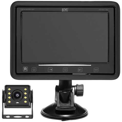 Boyo Vision Vtc474rb Wireless Vehicle Backup System (pack of 1 Ea)
