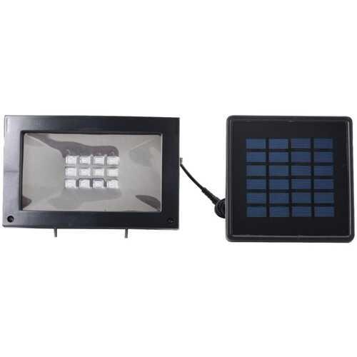 Maxsa Innovations Solar-powered Flood Light (pack of 1 Ea)
