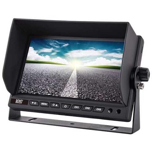 Boyo Vision Vtm9003fhd 9-inch Hd Digital Backup Camera Monitor (pack of 1 Ea)