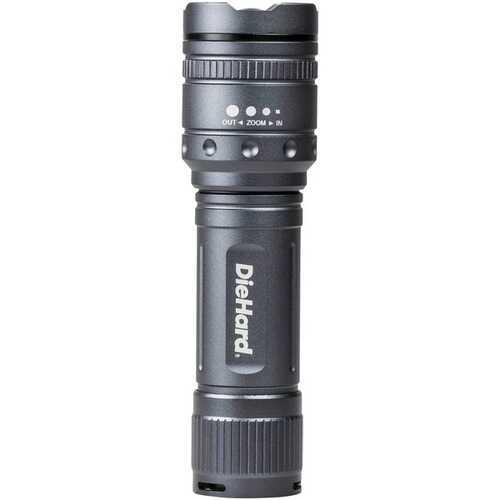 Diehard 600-lumen Twist Focus Flashlight (pack of 1 Ea)