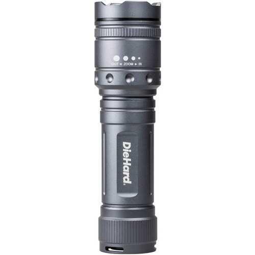 Diehard 1,700-lumen Twist Focus Flashlight (pack of 1 Ea)