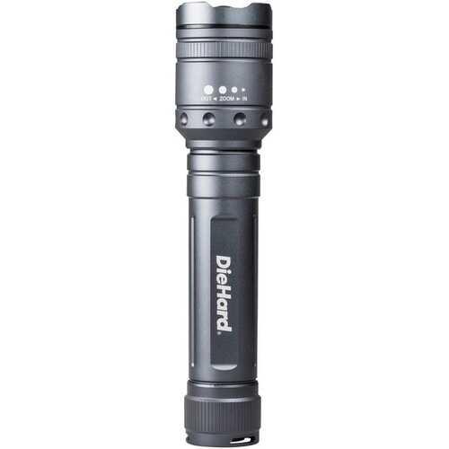 Diehard 2,400-lumen Twist Focus Flashlight (pack of 1 Ea)