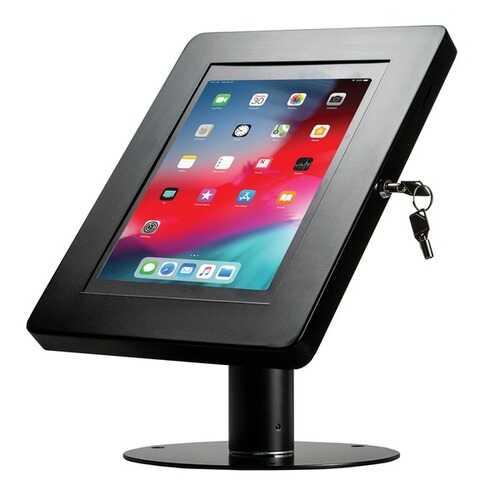 Cta Digital Hyperflex Security Kiosk Stand For Tablets (black) (pack of 1 Ea)