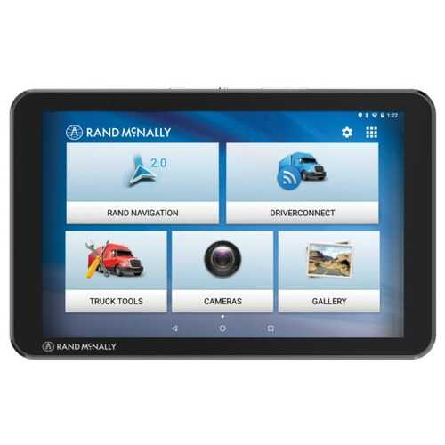 Rand Mcnally 8-inch Tnd Tablet 85 With Built-in Dash Cam (pack of 1 Ea)