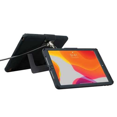 Cta Digital Security Case With Kickstand And Antitheft Cable For Ipad 10.2 Inch 7th Generation (pack of 1 Ea)