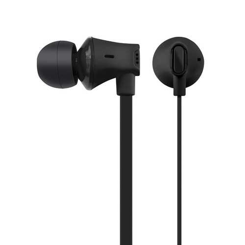 At&t Jive Noise Isolating Earbuds With In-line Microphone (black) (pack of 1 Ea)
