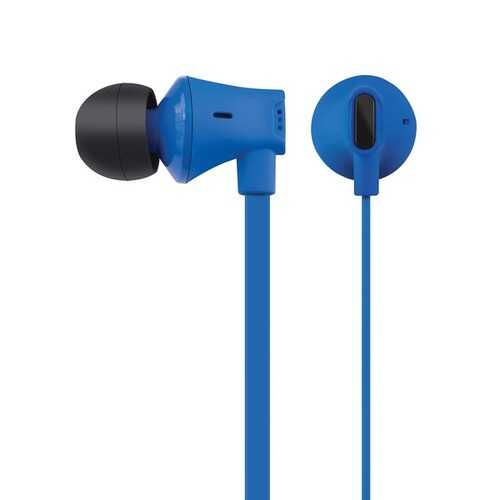 At&t Jive Noise Isolating Earbuds With In-line Microphone (blue) (pack of 1 Ea)