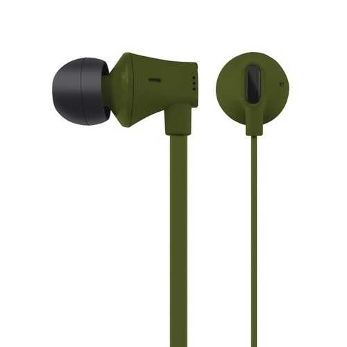 At&t Jive Noise Isolating Earbuds With In-line Microphone (green) (pack of 1 Ea)