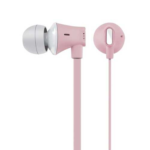 At&t Jive Noise Isolating Earbuds With In-line Microphone (pink) (pack of 1 Ea)