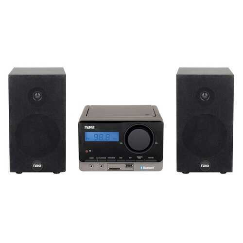 Naxa Mp3 Microsystem With Bluetooth (pack of 1 Ea)